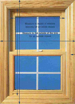 Measuring Windows For Warm Window Shades Cozy Curtains